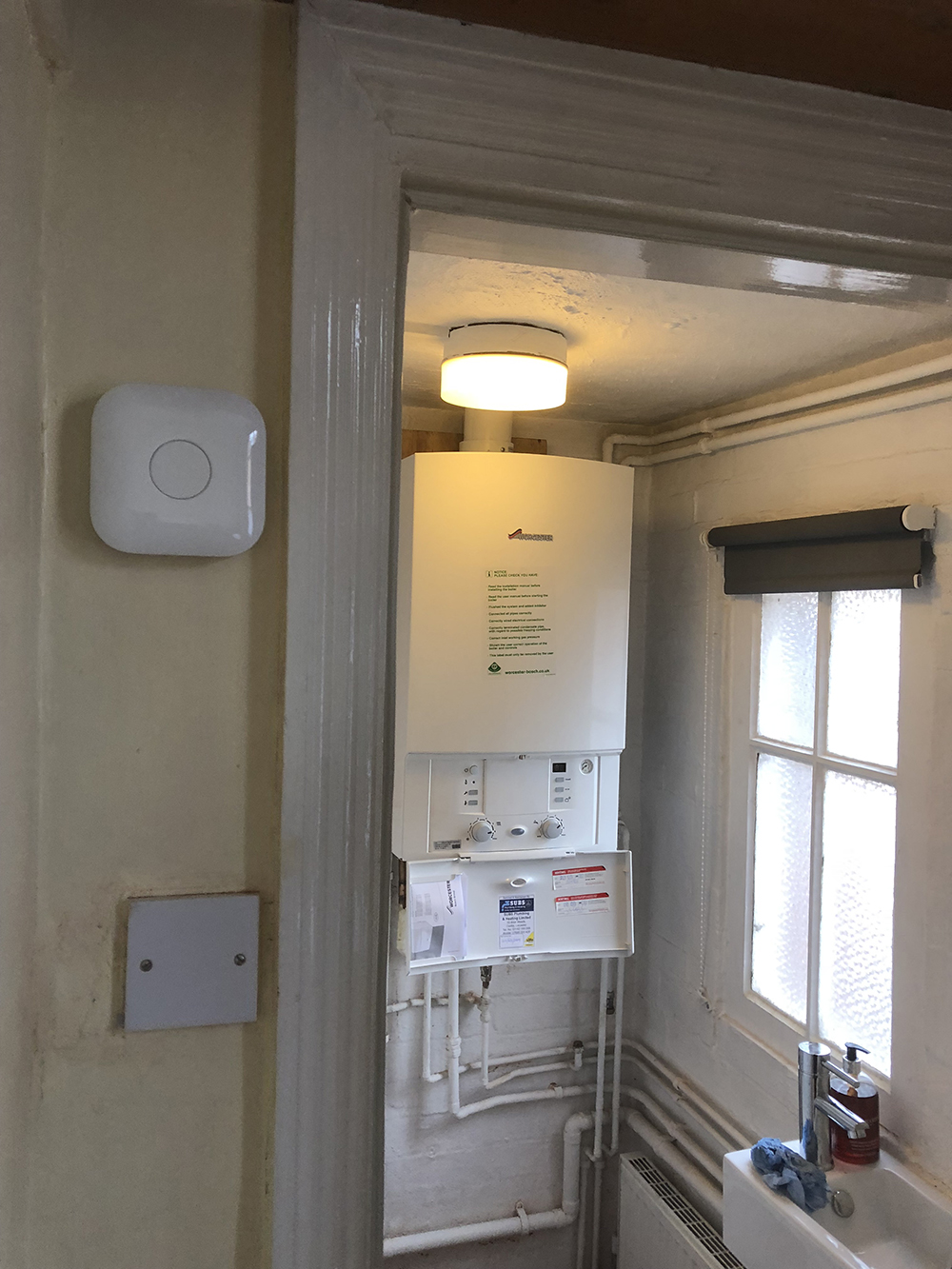 Nest and Worcester Bosch Boiler Installation